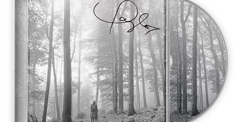 Taylor Swift - CD Autografado - Folklore