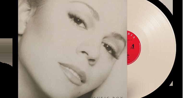 Mariah Carey - LP Music Box Creme Limitado