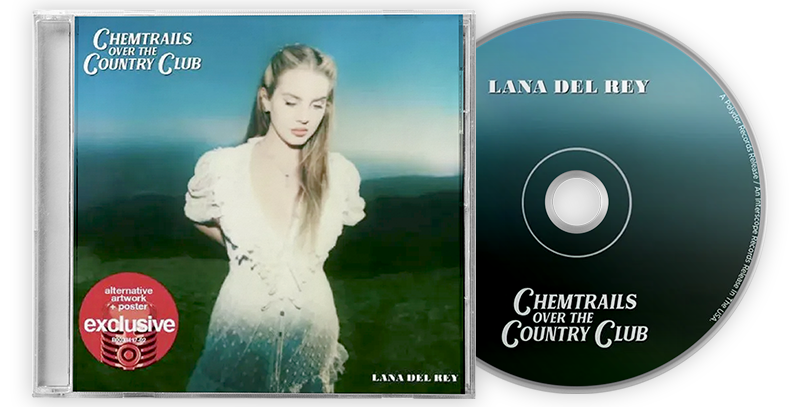 Lana Del Rey - CD Chemtrails Over the Country Club [Target Exclusive]