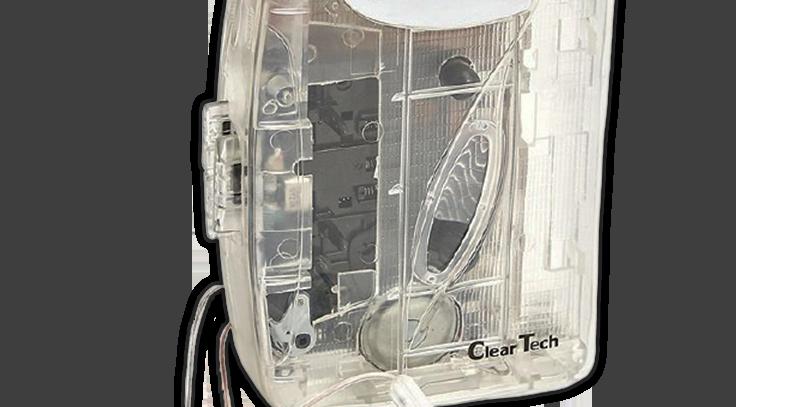 Cassete Player Transparente