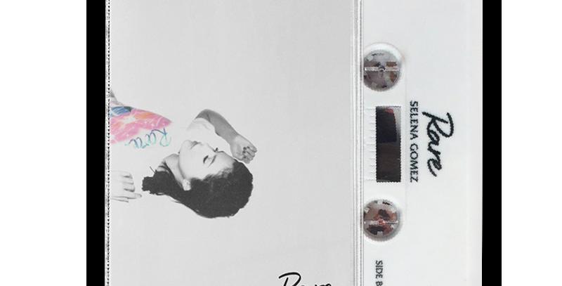 Selena Gomez - Rare Cassette  Branco