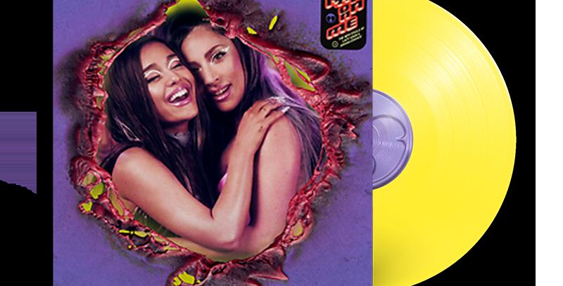 "Lady Gaga & Ariana Grande - LP 7"" Single Limitado Amarelo 'Rain On Me'"