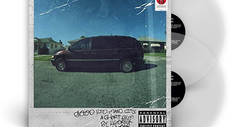 Kendrick Lamar - LP good kid, m.A.A.d city (Target Exclusive) Transparente