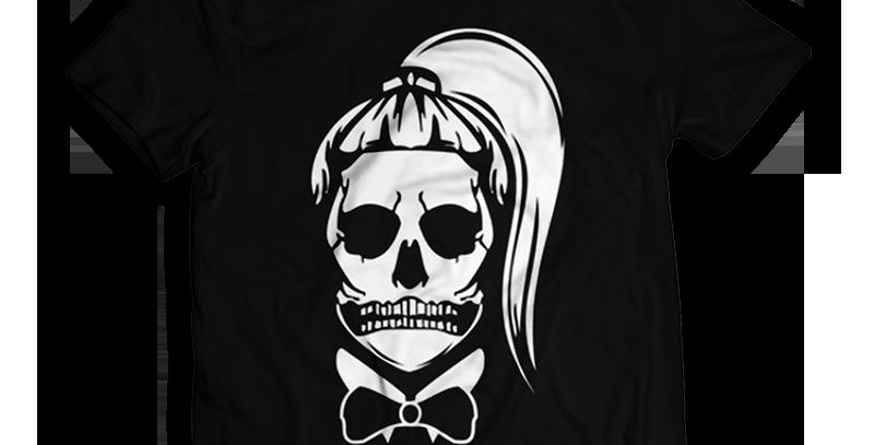 Camisa Lady Gaga Skull