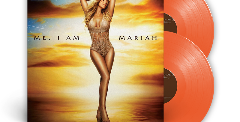 Mariah Carey - 2x LP Me. I Am Mariah... The Elusive Chanteuse Laranja Limitado