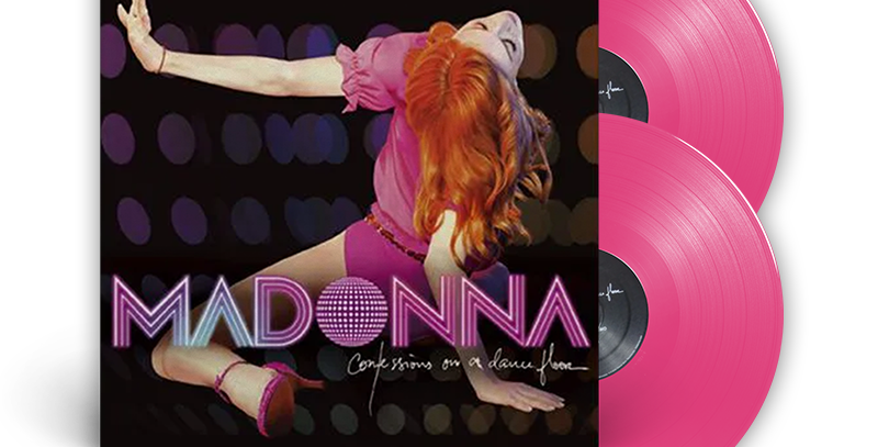 Madonna - 2x Pink LP Confessions on a Dance Floor