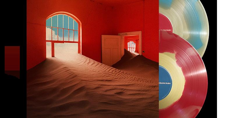 Tame Impala - The Slow Rush 2x LP Splatter Colorido Raro