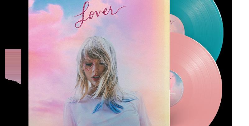 Taylor Swift - Lover LP Vinil Duplo Colorido - Exclusivo
