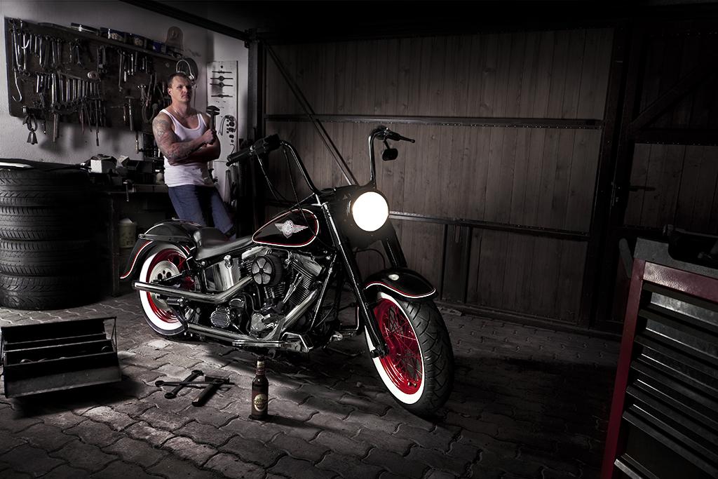 Harley Davidson EVO Oldschool