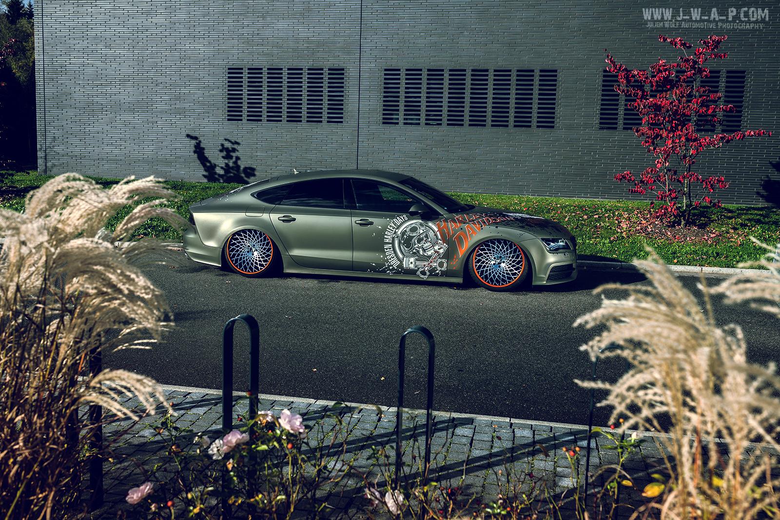 Audi A7 Harley Davidson