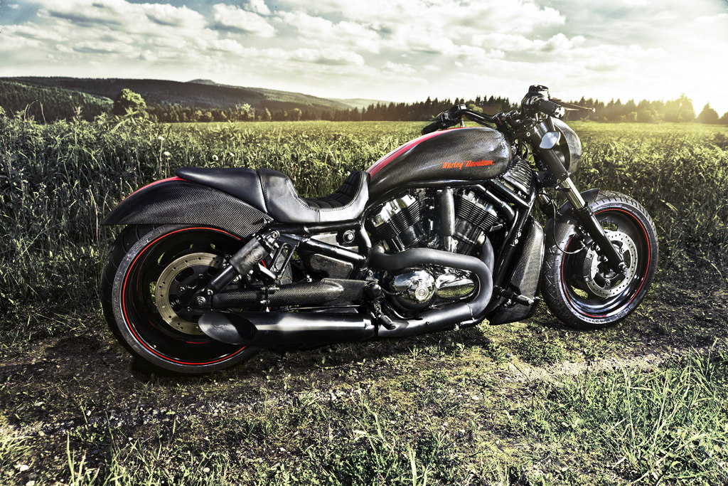 Harley Davidson Carbon Bike
