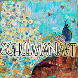 Peacock Paparazzi by Miriam Schulman