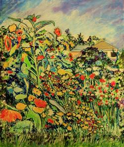 Monet's Garden  by Vivian Bergenthal
