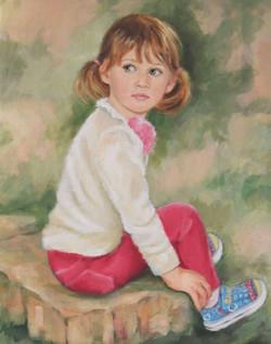 Marisa (3yrs) by Phyllis Klein