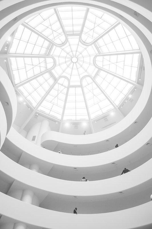Modern White Building