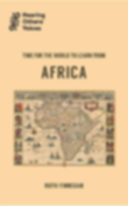 Time to start learning from africa cover