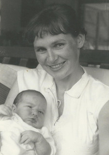 Ruth as a young mother
