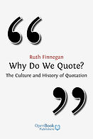 Why Do We Quote book cover