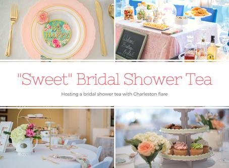A 'Sweet' Bridal Shower Tea