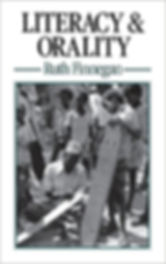 Literacy & Orality book cover