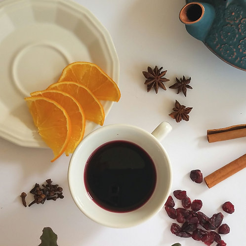 Mulled Wine Muscadine Jelly