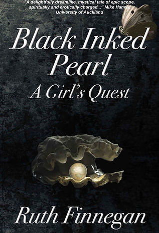 Black Inked Pearl book cover