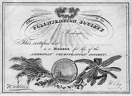American_Colonization_Society_member_cer