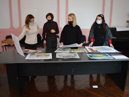 Міський конкурс образотворчого мистецтва «Барви рідного міста»