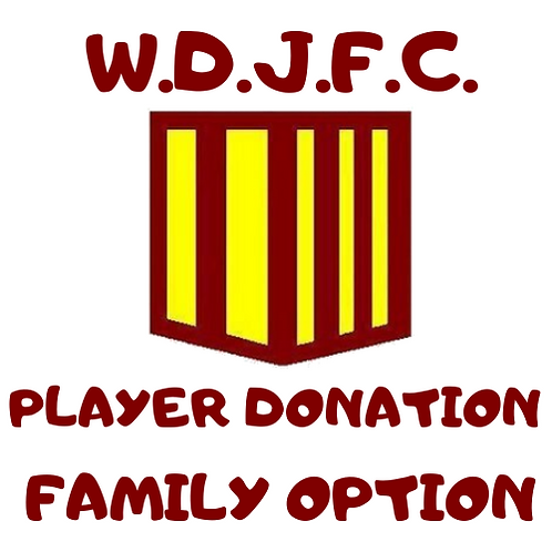 Player Donations - Family Option (Oct & Nov 2020)