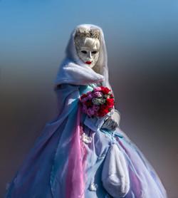 Carnaval vénitien Reine des Neiges