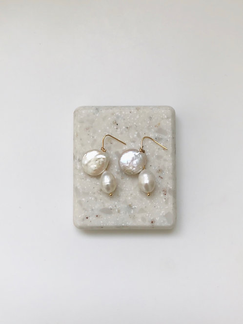 """Boucles """"Pearls"""""""