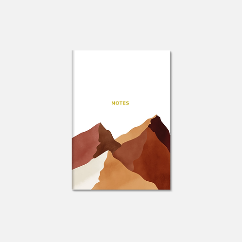 Ocres du désert by Dine