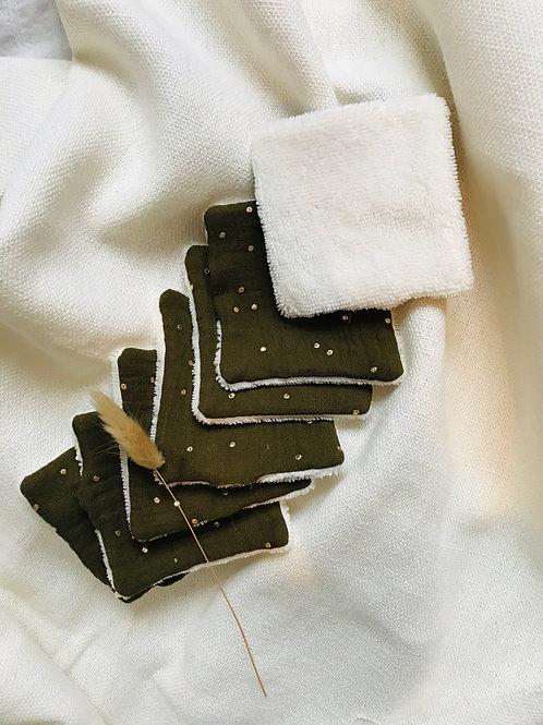 Semainier de lingettes démaquillantes + filer de lavage offert