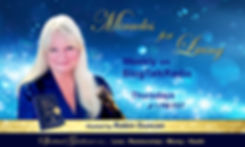 Banner - Miracles for Living Radio for W