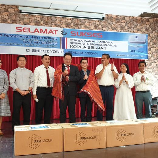 인도네시아, 교실 내 공기질 모니터링 시스템 구축 업무 협력