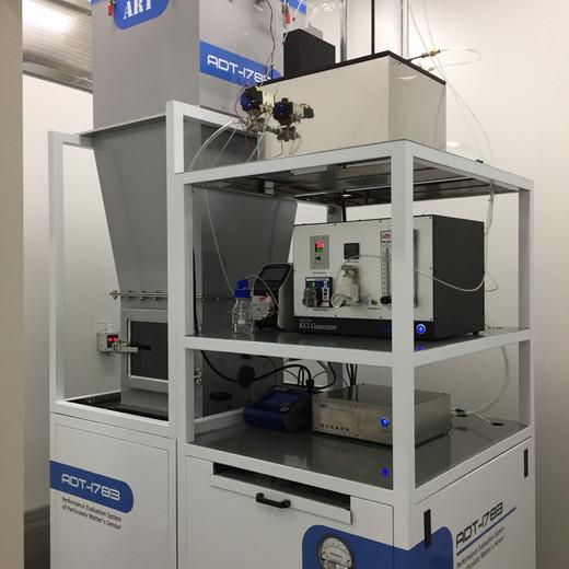 에어가전지원센터, 국내 유일 광학미세먼지센서 성능검사 진행