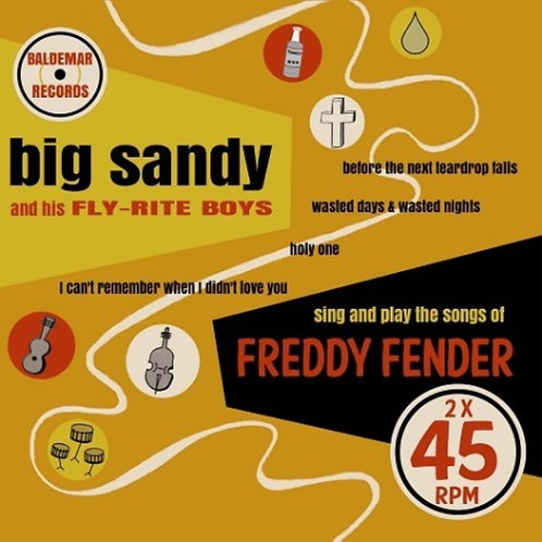 Double 45 set! ...Sing And Play The Songs Of Freddy Fender
