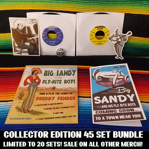 Anniversary Bundle! Collectors Edition  45s, Greeting Card, Sticker & more!