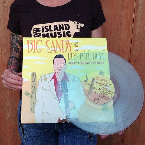 """Vinyl LP What A Dream It's Been - Clear """"Coke Bottle Green"""" Vinyl"""