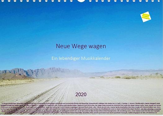 Neue Wege wagen - Ein Musikkalender