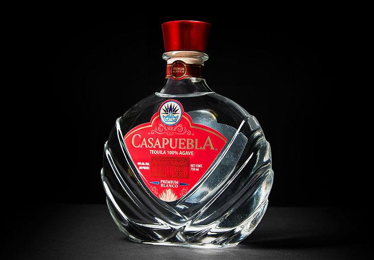 CasaPuebla Blanco Tequila Product shot