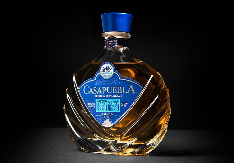 CasaPuebla Añejo Tequila Product shot