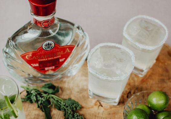 CasaPuebla Tequila Blanco cocktails