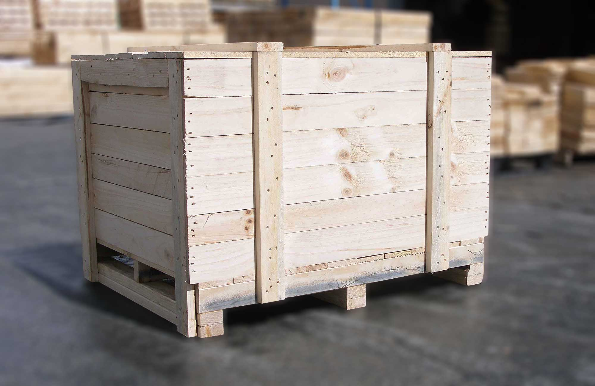 Heavy Duty Base Timber Case