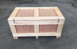 Plywood Case Hinged Hasp & Latch