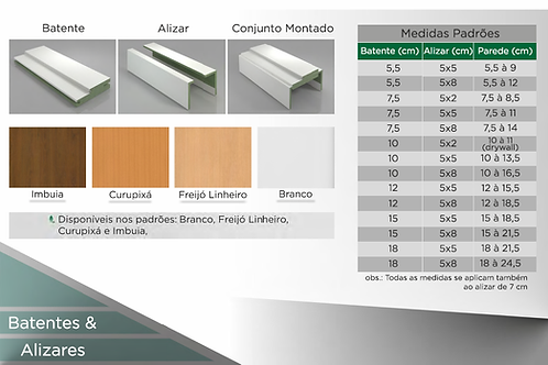 Batentes e Alizares Concrem Wood