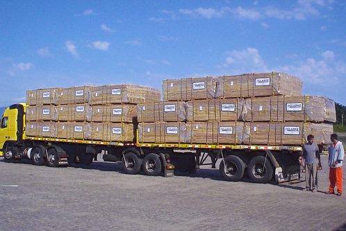 Carregamento de LAMINA para Exportação