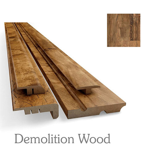 FRONTAL DE ESCADA - DEMOLITION WOOD