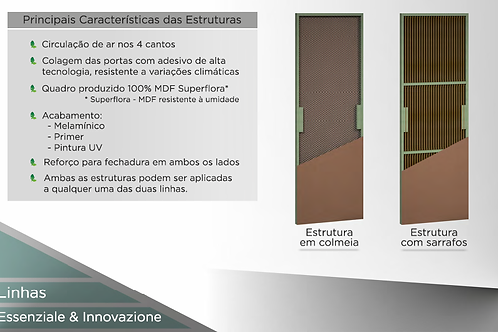 Enchimentos Portas Concrem Wood