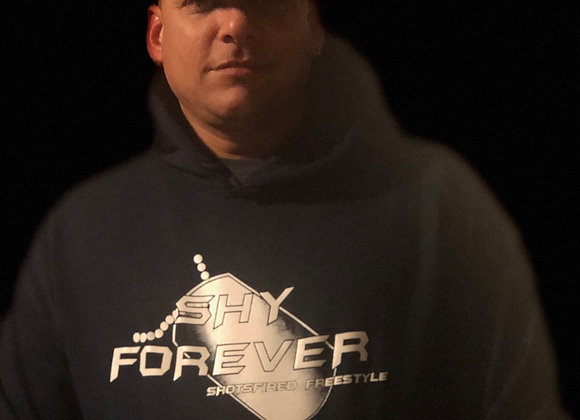 Plus size Black Shy Forever Hoodie
